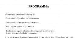Gita a Genova con l'Auser