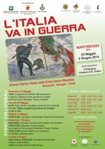 L'Italia va in guerra @ Filandone, ex Monastero S. Chiara | Martinengo | Lombardia | Italia