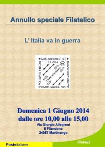 Annullo filatelico @ Filandone di Martinengo | Martinengo | Lombardia | Italia