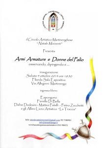 Mostra armi e armature e Donne del palio @ Sala espositiva del Filandone | Martinengo | Lombardia | Italia