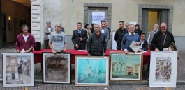 Artisti in piazza con il Premio Arte città di Martinengo