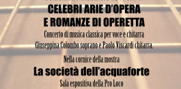 Concerto musica classica per voce e chitarra