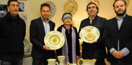 Inaugurazione mostra di ceramiche di Carla Corna