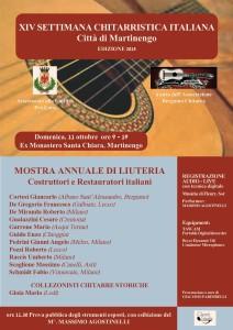 Mostra Annuale di Liuteria @ Ex monastero di S.Chiara Martinengo | Martinengo | Lombardia | Italia
