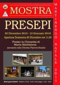 Mostra Presepi a Martinengo @ Chiesetta Maria Maddalena di Martinengo