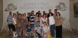 """Visita alla mostra """"Quando l'Italia disegnava il mondo"""" con la Pro Loco"""