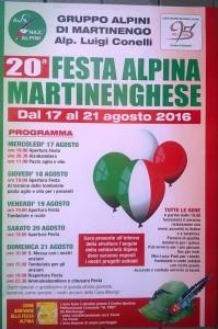20° festa Alpina martinenghese @ Centro sportivo polifunzionale al Tiro