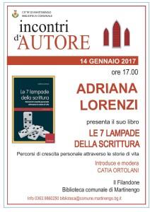 Presentazione del libro di Adriana Lorenzi @ Filandone