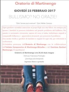 """""""Bullismo? No grazie!"""" @ Oratorio di Martinengo"""