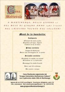 Martinengo, Cena Medievale @ Ex chiostro Clarisse - scuole medie | Martinengo | Lombardia | Italia