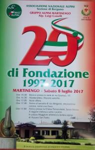 20° anniversario Gruppo Alpini Martinengo @ Sede Alpini Martinengo | Martinengo | Lombardia | Italia