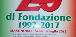 20° anniversario Gruppo Alpini Martinengo