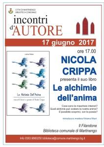 Presentazione del libro di Nicola Crippa @ Biblioteca Comunale