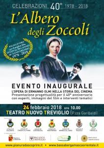 Treviglio, Evento inaugurale per il 40° anniversario del L'Albero degli Zoccoli @ Teatro Nuovo di Treviglio | Treviglio | Lombardia | Italia