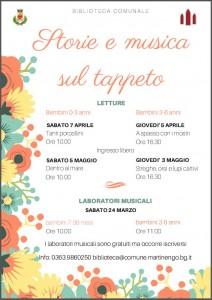 Storie sul tappeto @ Biblioteca di Martinengo | Martinengo | Lombardia | Italia