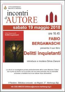 Incontri D'Autore @ Biblioteca comunale    Martinengo   Lombardia   Italia