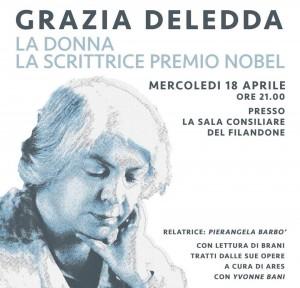 Grazia Deledda: La donna, la scrittrice premio Nobel  @ Sala consiliare del Filandone | Martinengo | Lombardia | Italia