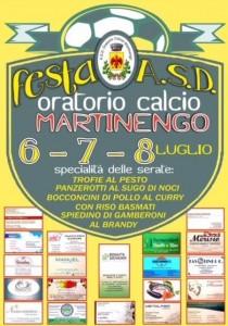 Festa ASD Oratorio Calcio Martinengo @ Oratorio di Martinengo | Martinengo | Lombardia | Italia