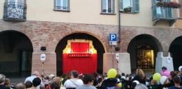 Spettacolo Burattini in Piazza Maggiore