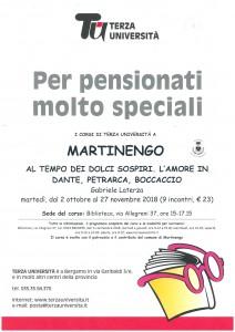 Corso Terza Università al Filandone @ Filandone, Martinengo