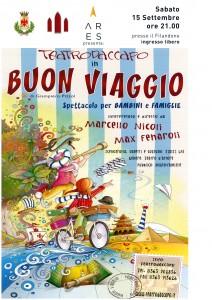"""Spettacolo teatrale """"Buon viaggio"""" Teatro Daccapo  @ Sala Consiliare del Filandone"""