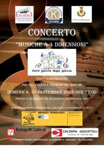 Concerto del coro Goccia dopo goccia  @ Sala Consiliare del Filandone
