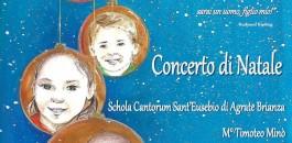 Concerto di Natale della Schola Cantorum Sant'Eusebio di Agrate Brianza