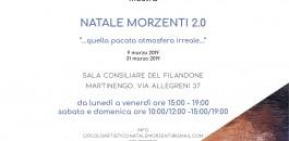 """Mostra """"Natale Morzenti 2.0″"""