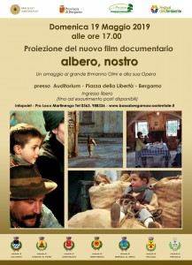 "Bergamo, proiezione docufilm ""Albero, nostro"" @ Bergamo"