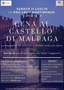 Cena al Castello di Malpaga @ Locanda dei Nobili Viaggiatori, Malpaga