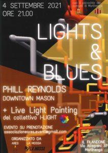 Serata Lights&Blues, tra arte e musica @ Filandone